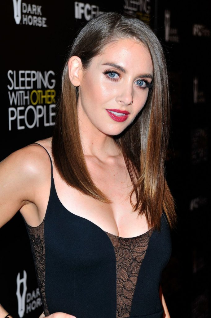 Alison Brie Hair Style Pictures