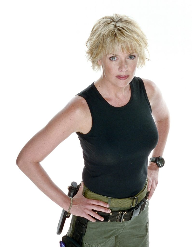 Amanda Tapping Oops Moment Images