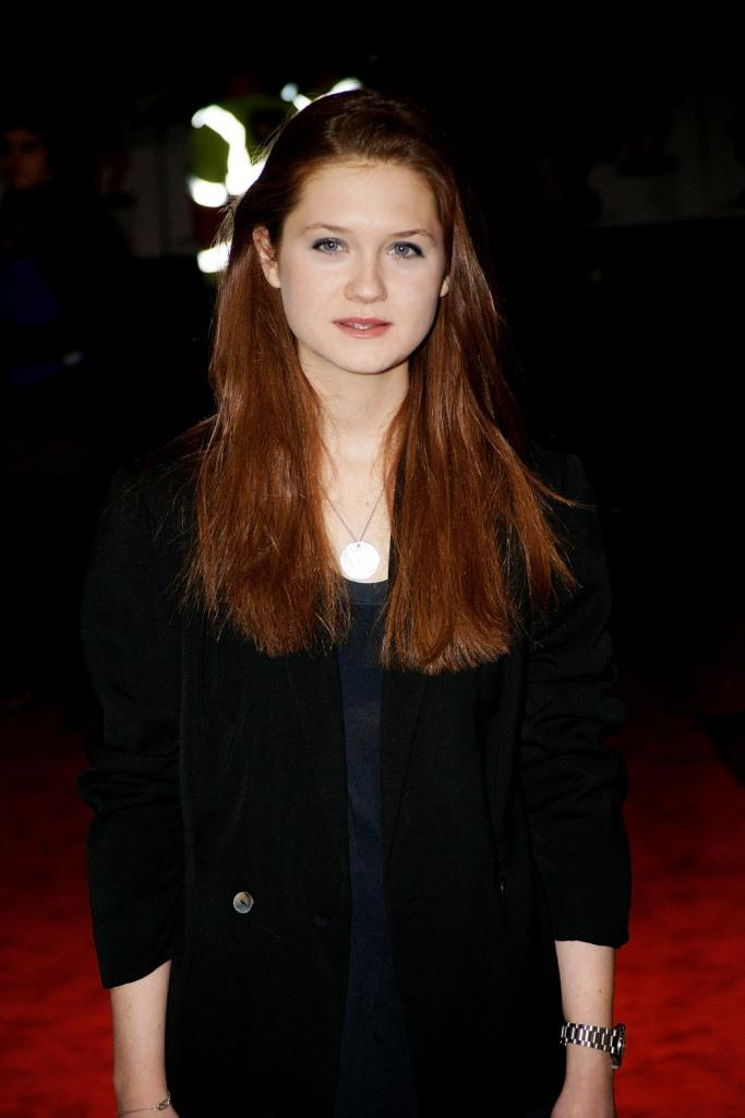 Bonnie Wright Oops Moment Images