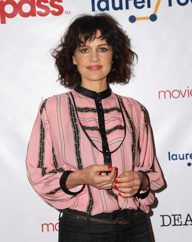 Carla Gugino Cleavage Pictures