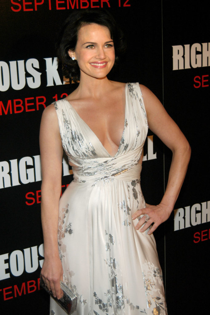 Carla Gugino Workout Pictures