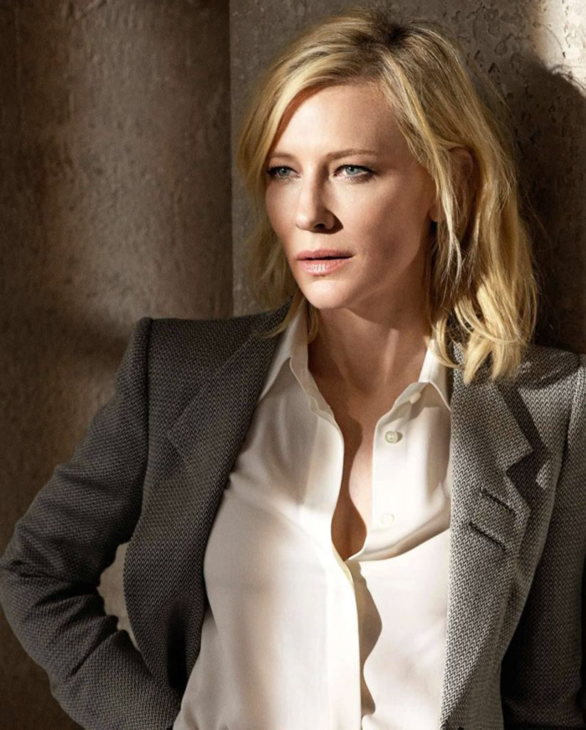 Cate Blanchett No Makeup Photos