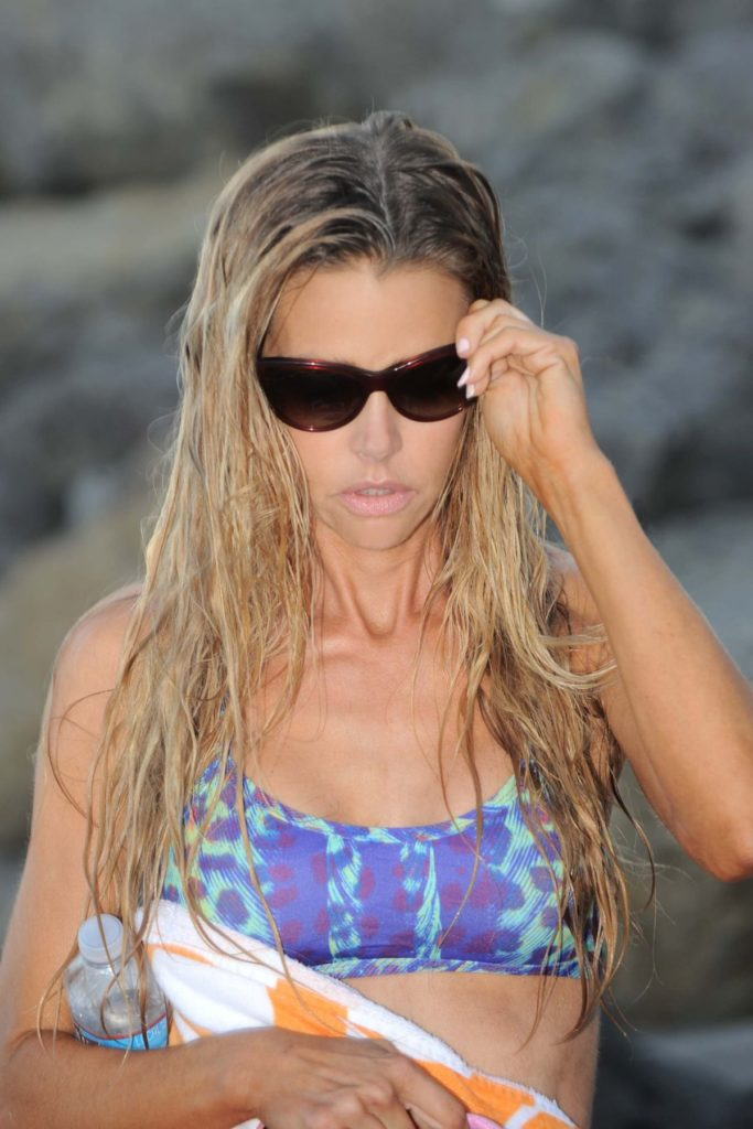 Denise Richards Beach Pictures
