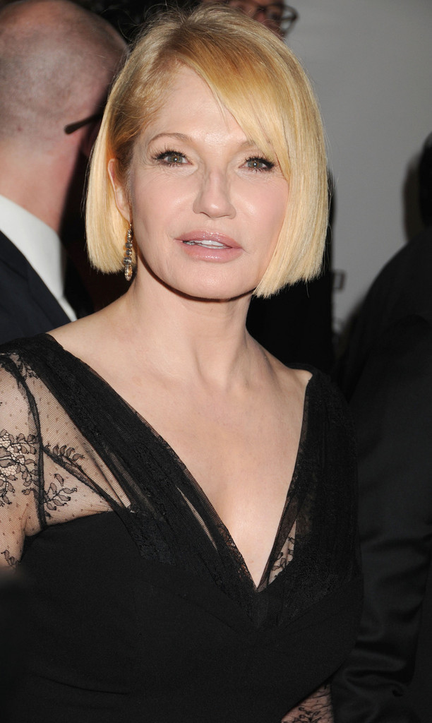 Ellen Barkin Braless Photos