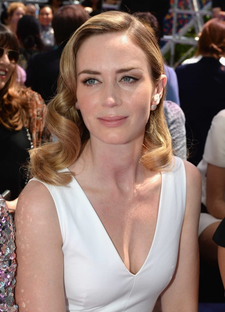 Emily Blunt Muscles Pictures