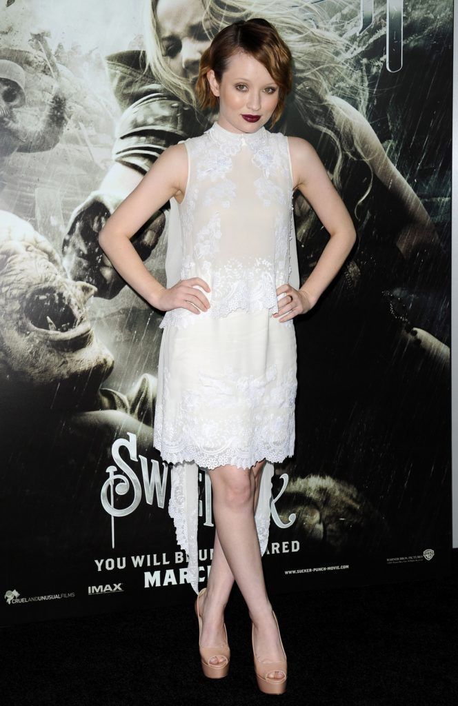 Emily Browning Legs Photos