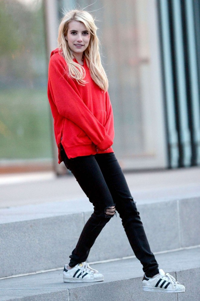 Emma Roberts Jeans Pictures