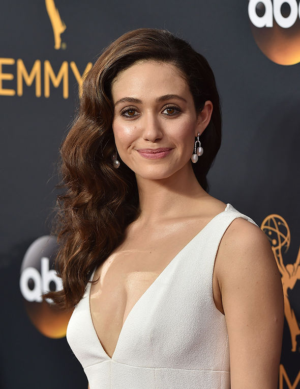 Emmy Rossum Muscles Wallpapers