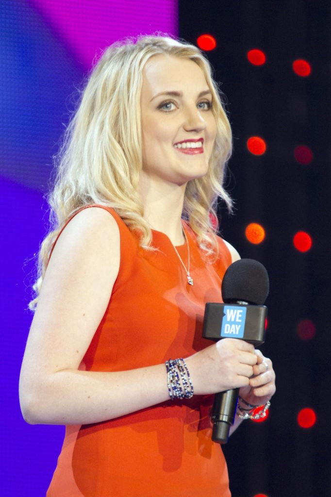 Evanna Lynch Cleavage Photos