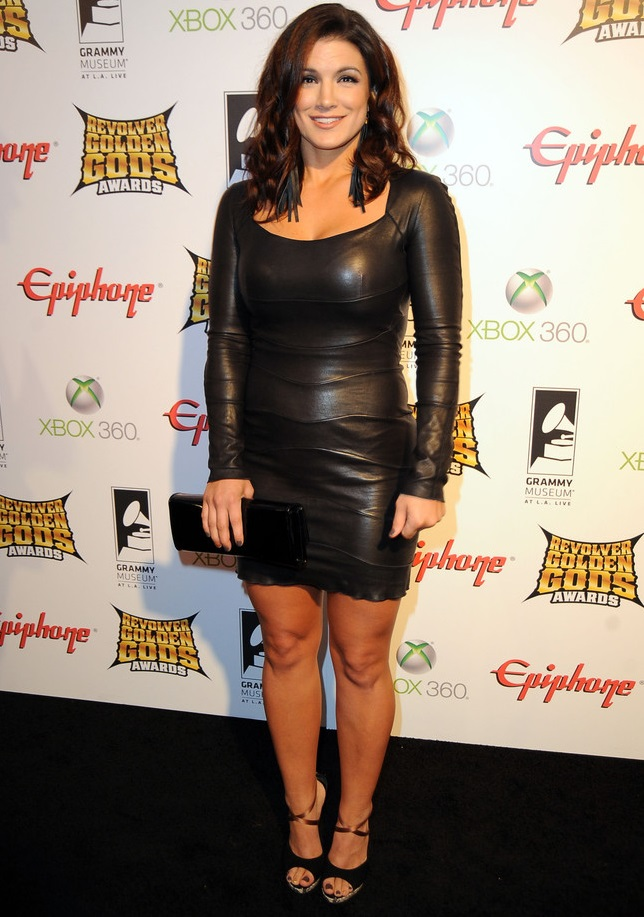 Gina Carano Swimsuit Images
