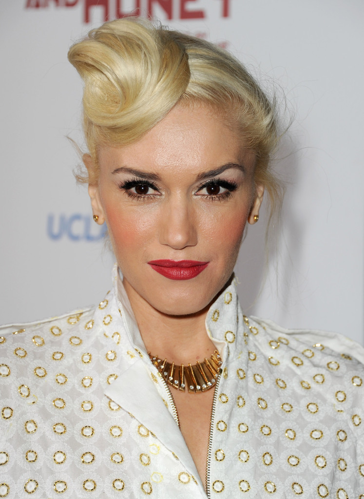 Gwen Stefani Hair Style Pictures
