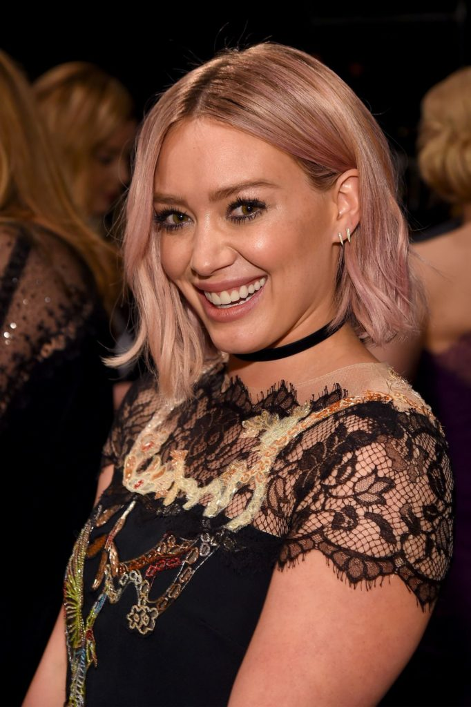 Hilary Duff Smileing Pictures