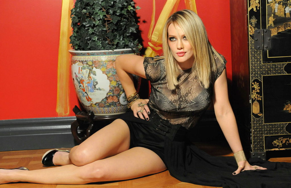 Hilary Duff Workout Images