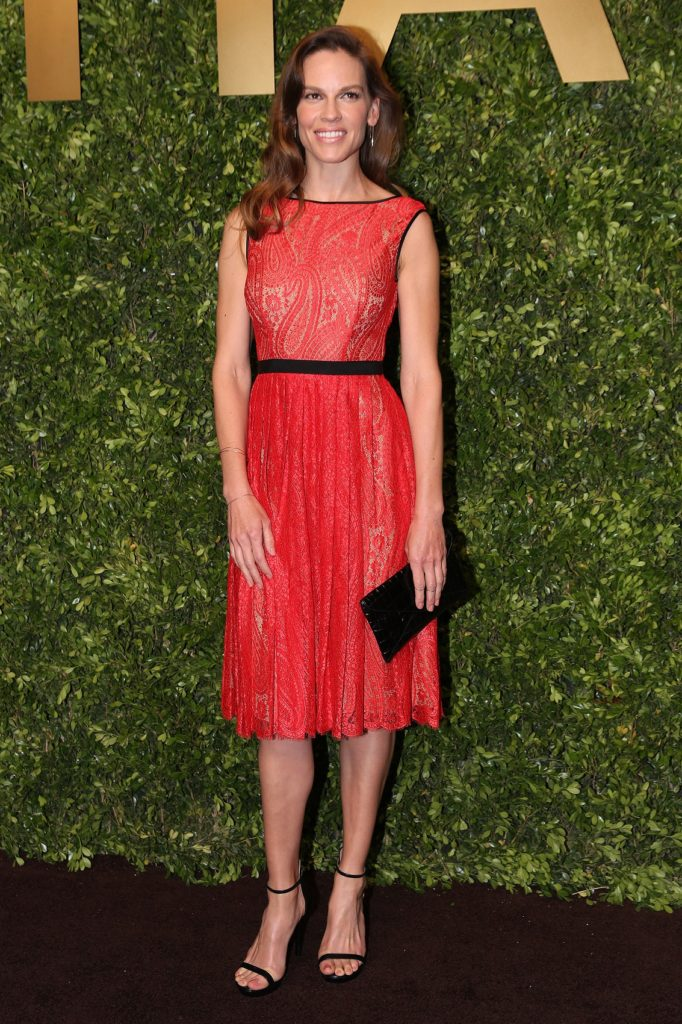 Hilary Swank Legs Pictures