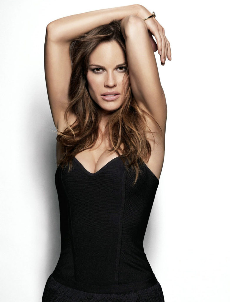Hilary Swank Working Out Images