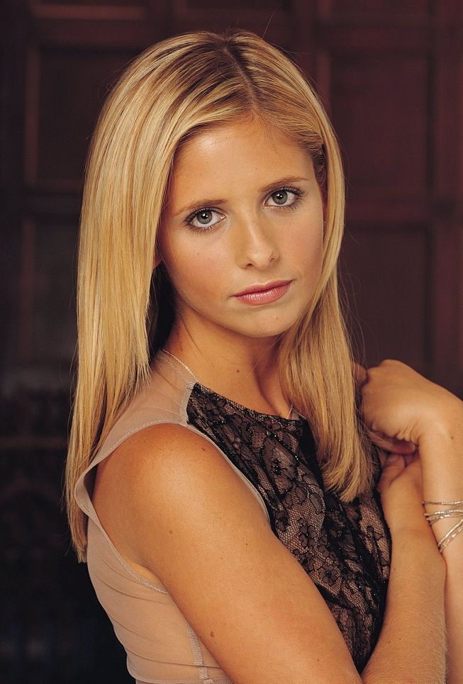 Sarah Michelle Gellar Lingerie Wallpapers
