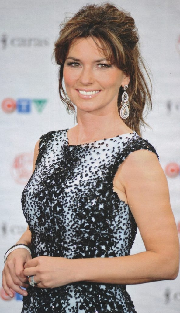 Shania Twain Working Out Wallpapers