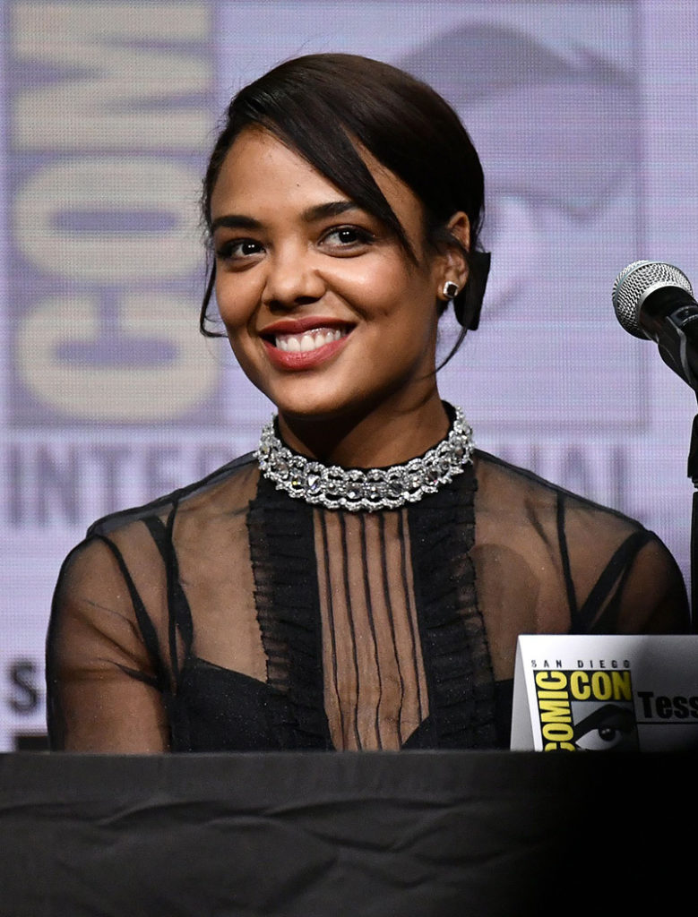 Tessa Thompson Hair Style Photos