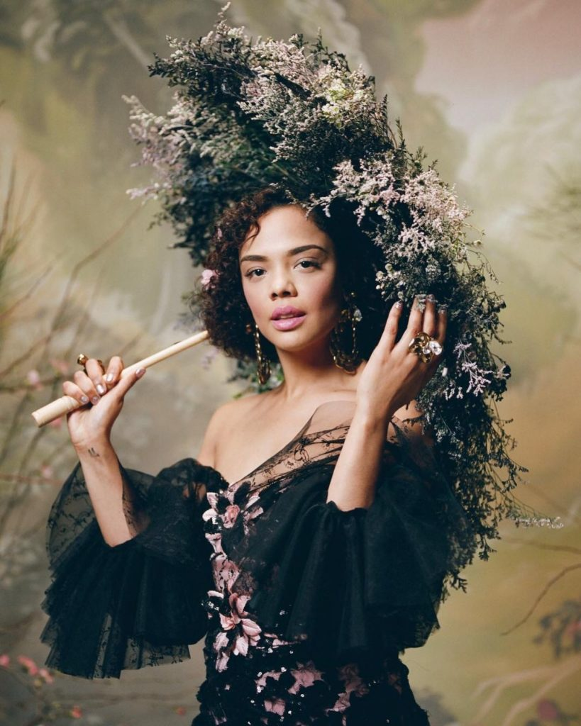 Tessa Thompson Haircut Pics