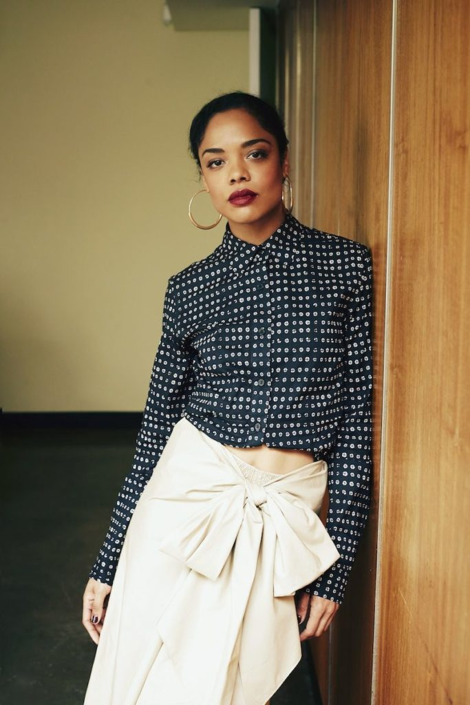 Tessa Thompson Jeans Photos