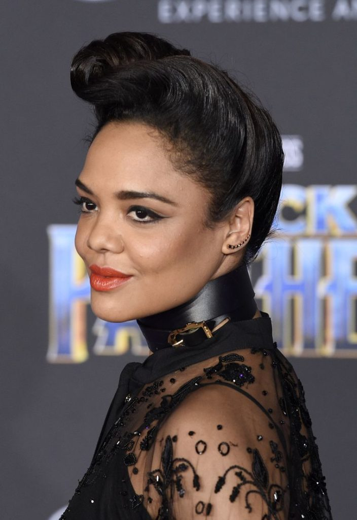 Tessa Thompson Smile Face Wallpapers