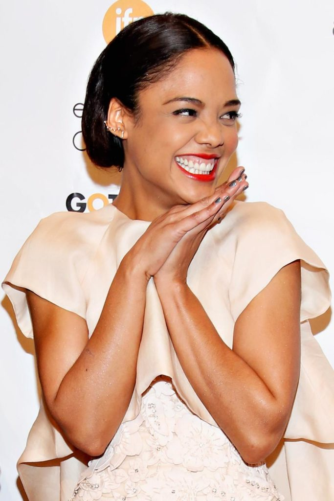 Tessa Thompson Smileing Pictures