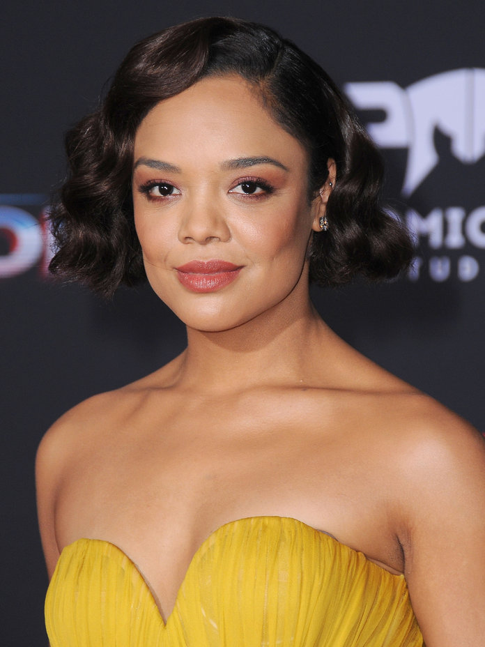 Tessa Thompson Workout Photos