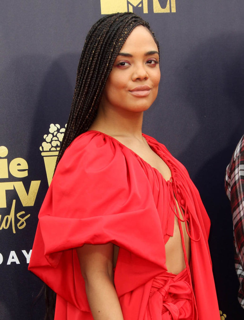 Tessa Thompson Yoga Pants Wallpapers