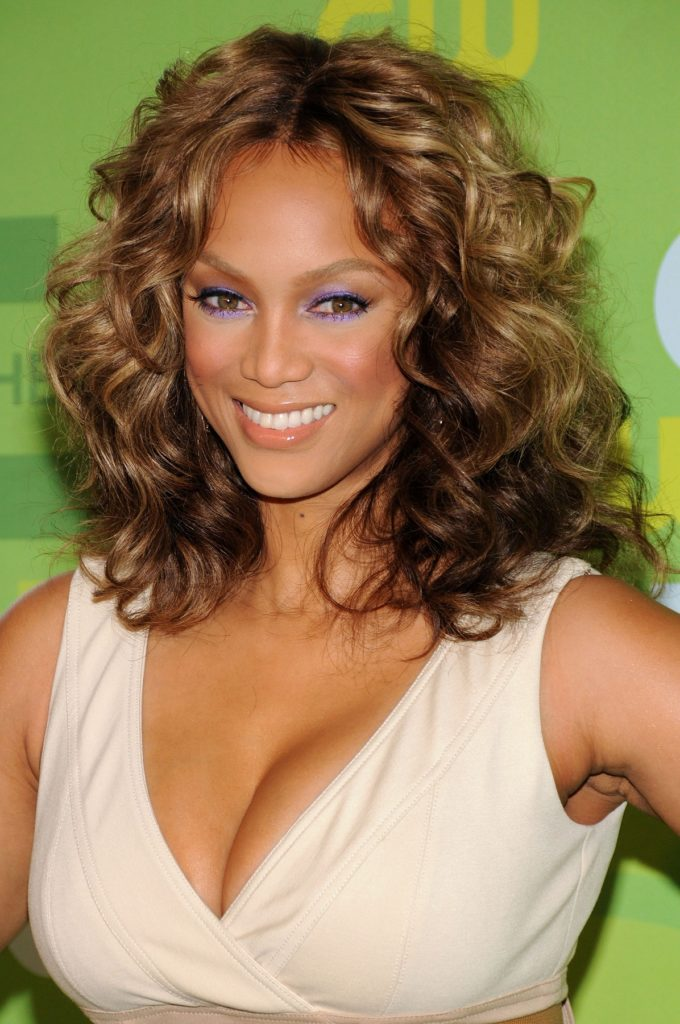 Tyra Banks Smile Face Images