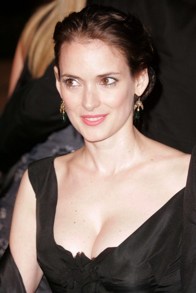 Winona Ryder Braless Wallpapers