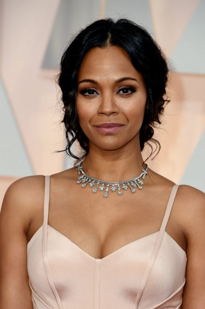 Zoe Saldana Boobs Pictures