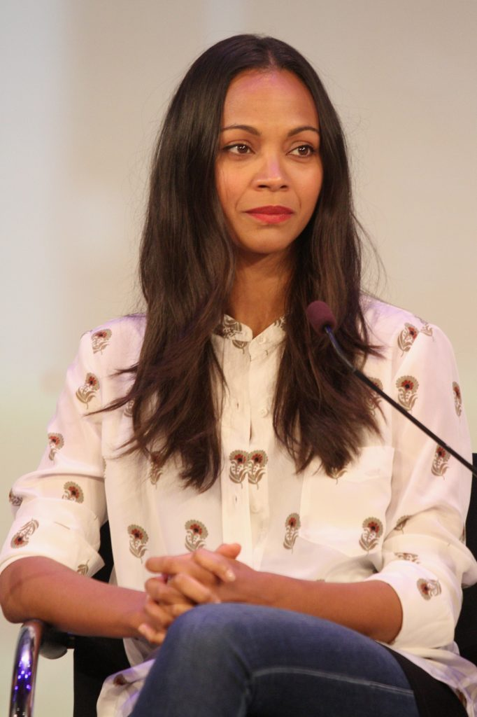 Zoe Saldana Leggings Images