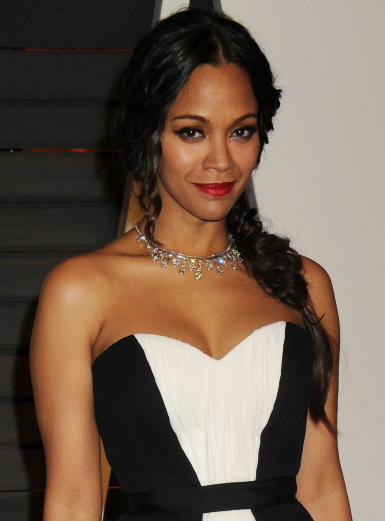 Zoe Saldana No Makeup Images