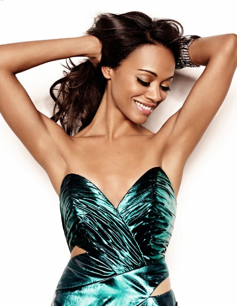 Zoe Saldana Smile Face Pictures