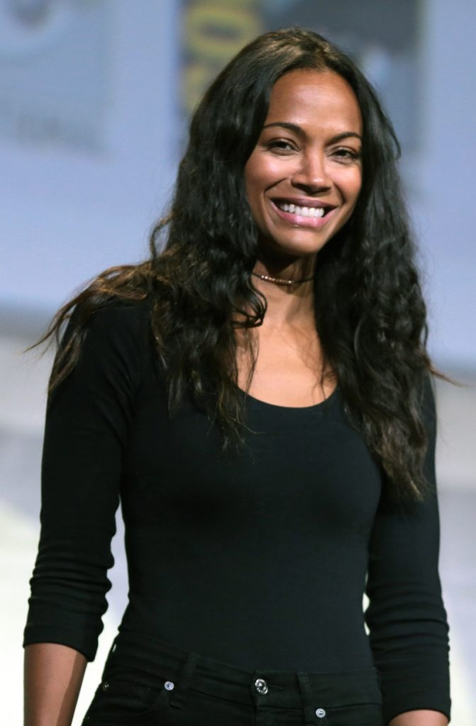 Zoe Saldana Without Makeup Pictures