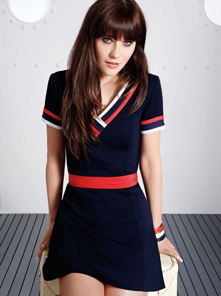 Zooey Deschanel Bra Panty Photos