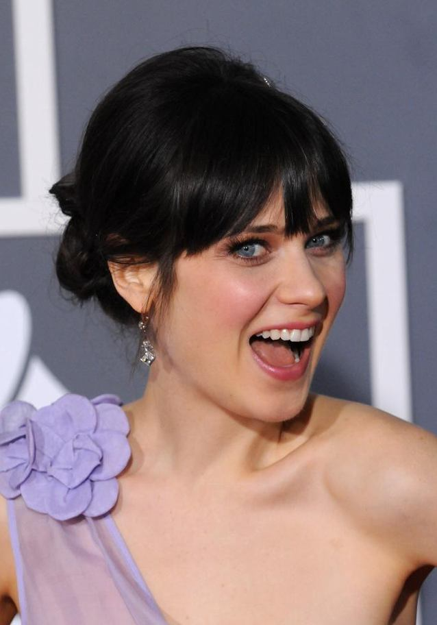 Zooey Deschanel Cleavage Images