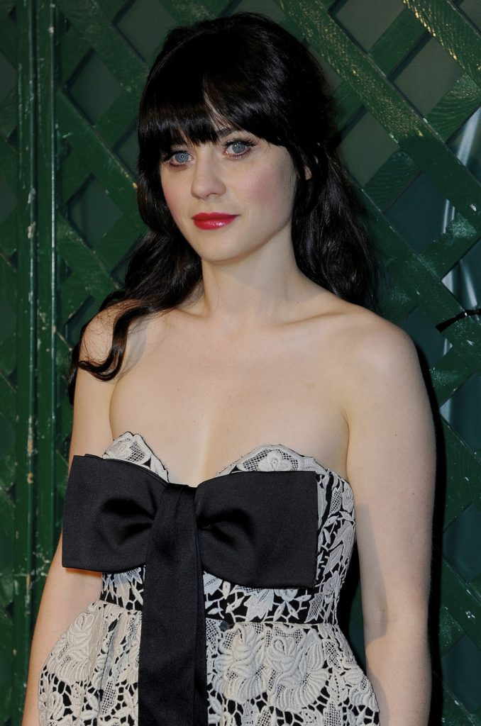 Zooey Deschanel Lingerie Wallpapers
