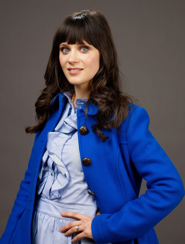 Zooey Deschanel Makeup Photos