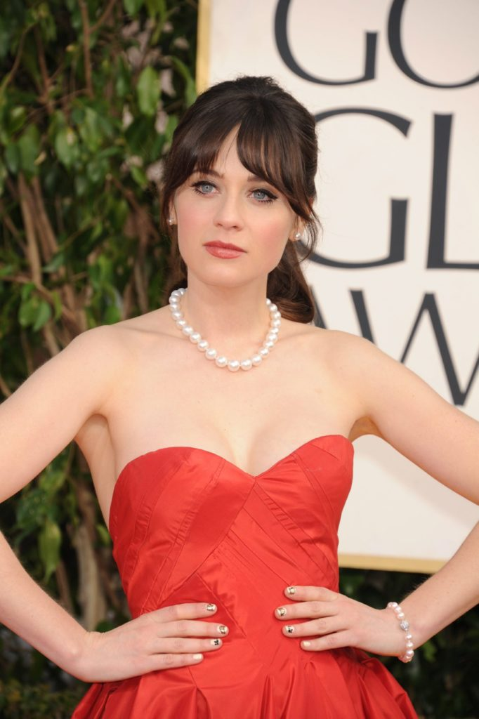 Zooey Deschanel Smile Face Pictures