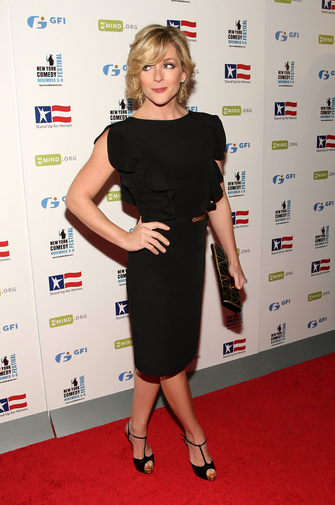 Jane Krakowski Working Out Images