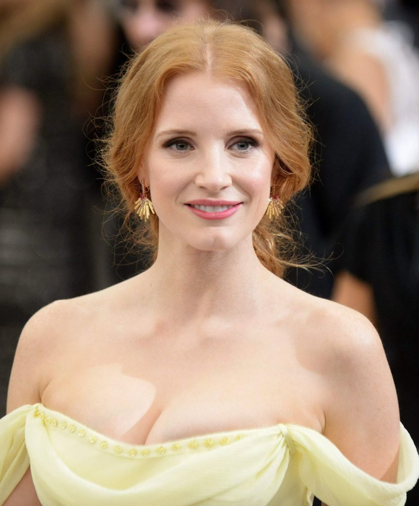 Jessica Chastain Boobs Pictures
