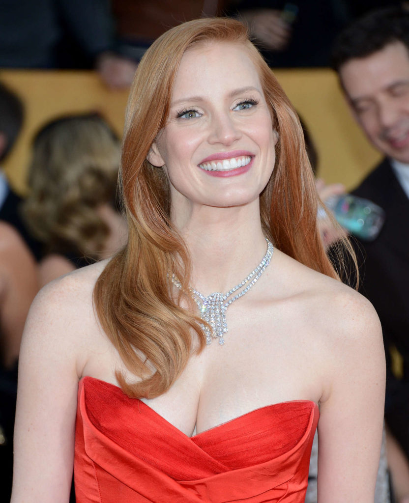 Jessica Chastain Cute Pictures