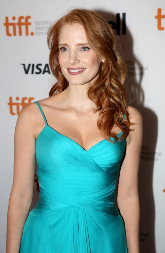 Jessica Chastain Smile Face Pictures