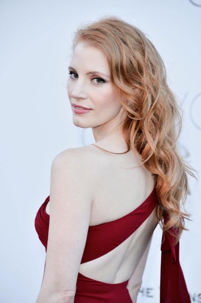 Jessica Chastain Swimsuit Wallpapers