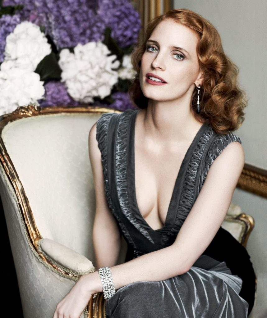 Jessica Chastain Topless Photos