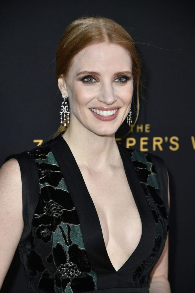 Jessica Chastain Yoga Pants Pictures