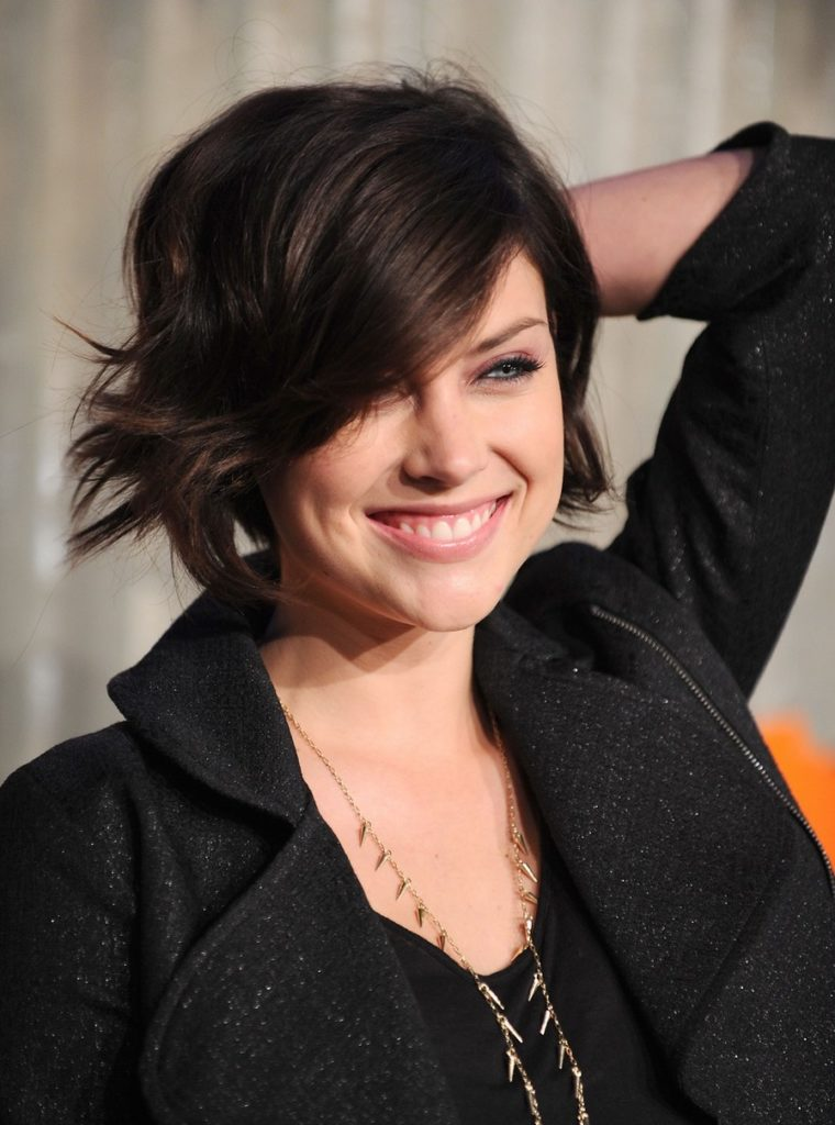 Jessica Stroup Hair Style Wallpapers