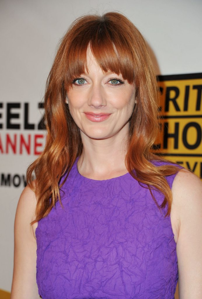Judy Greer Smile Face Wallpapers