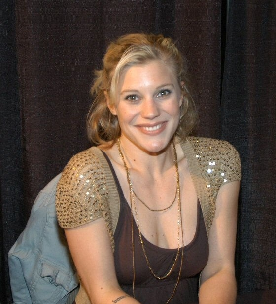 Katee Sackhoff Working Out Photos
